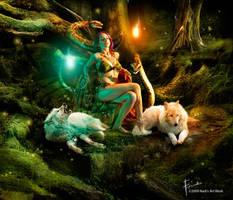 Mystique Jungle by Firnadi