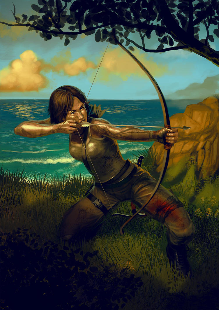 Lara-croft by Firnadi
