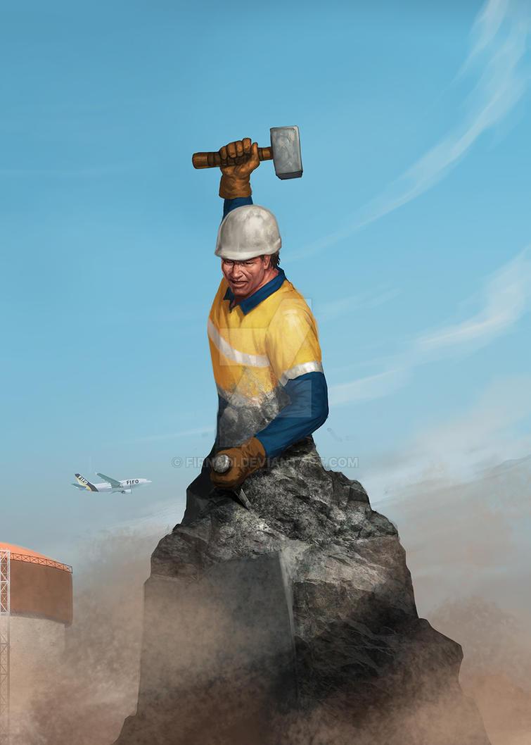 Worker by Firnadi