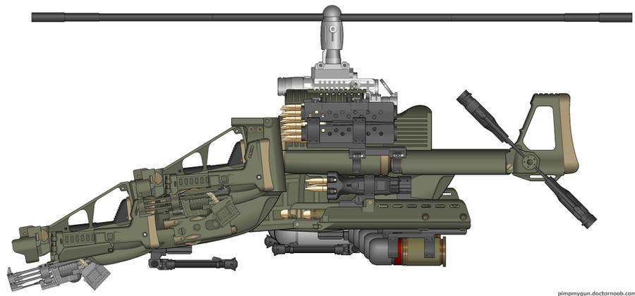 AMV Dussage Helicopter by orcbruto