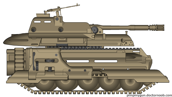 Aligator Heavy Tank by orcbruto