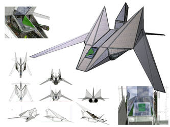 Aapsu superiority fighter by orcbruto