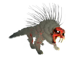 The Beast of Gevaudan by orcbruto