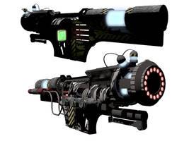 Obliterator Gun MLIPCC Mk I by orcbruto