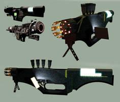 Obliterator Gun MLIPCC Mk 2 by orcbruto