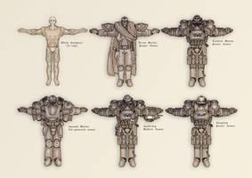 Adeptus Astartes Sketches by orcbruto