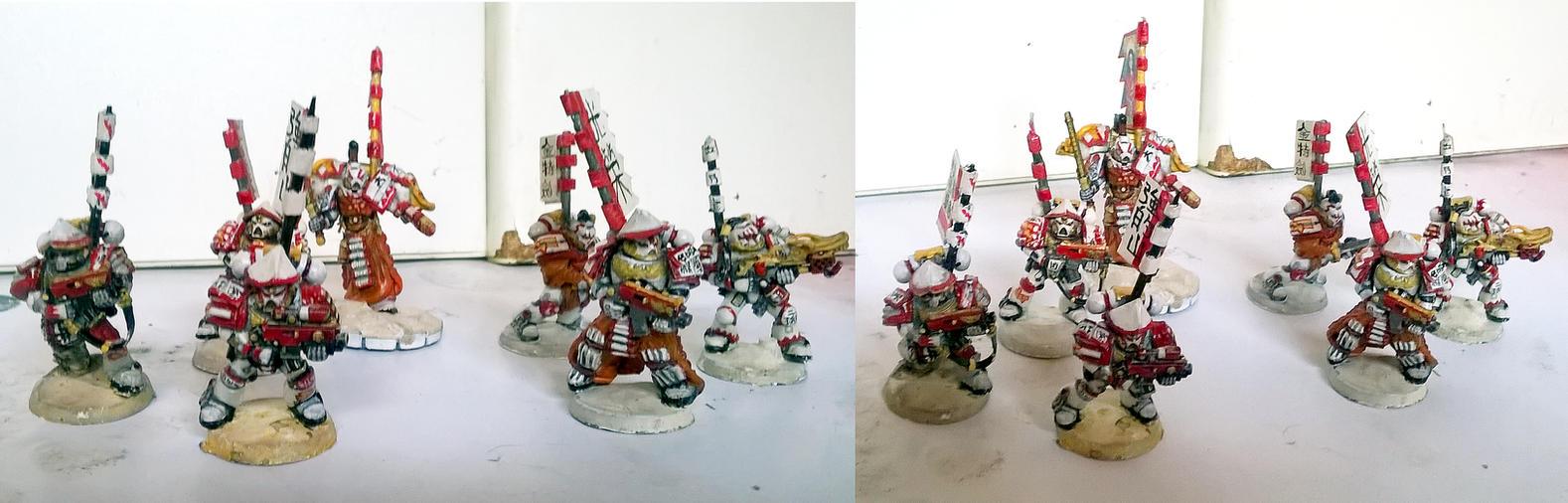 Susegasa Samurai White Scars by orcbruto