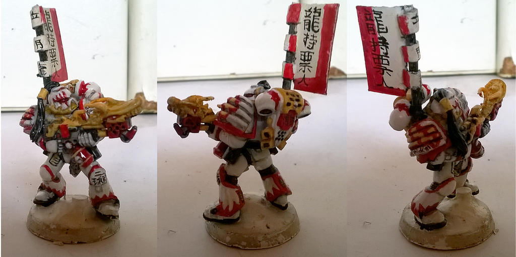 White Scars Samurai Pyro by orcbruto