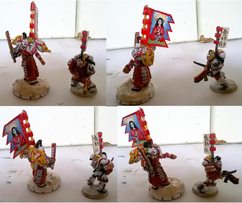 Samurai White Scars Sergeants by orcbruto