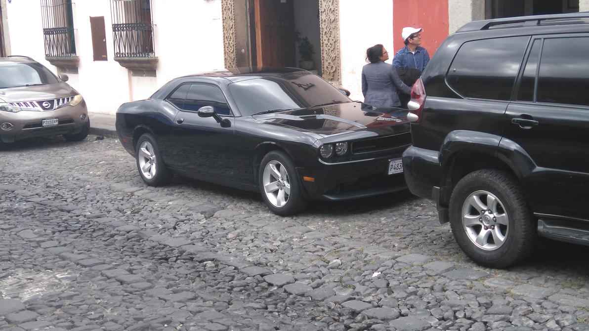 Dodge Chellenger in Antigua by yozgt