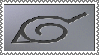 Naruto Hidden Leaf Village Symbol Stamp by ObsessedwithHetalia