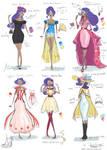 Rarity Fashion Designs by Glasmond