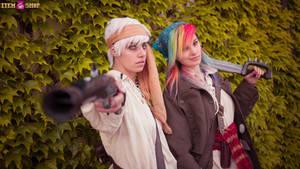 Pirate Dash and Gilda Cosplay