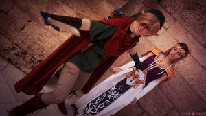 Link and Zelda at Animuc 2015