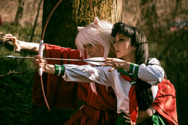 Inuyasha and Kagome 1 by Glasmond