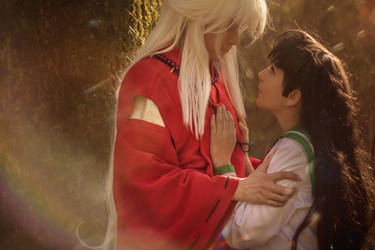 Inuyasha and Kagome 2 by Glasmond
