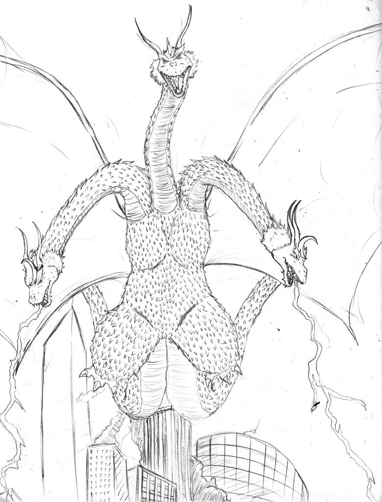 King Ghidorah by Volador-N7 on DeviantArt