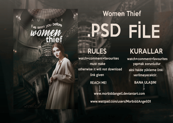 Women Thief .PSD File     (KAPANDI) by MorbiddAngell