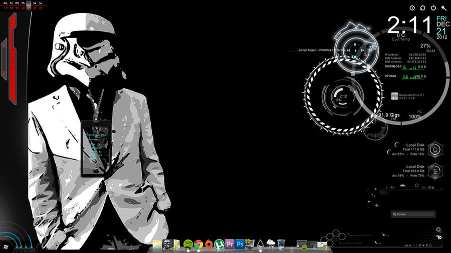 Rainmeter Stormtrooper by Felquist on deviantART