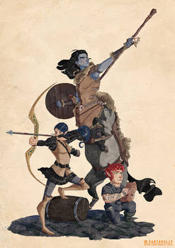 Commission DnD Party