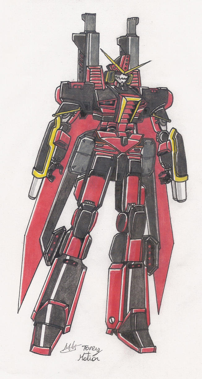 dead-war-robot a color by raperbot-1997