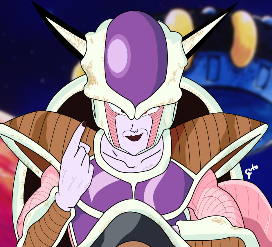 Frieza 1st form by PudimArts on DeviantArt