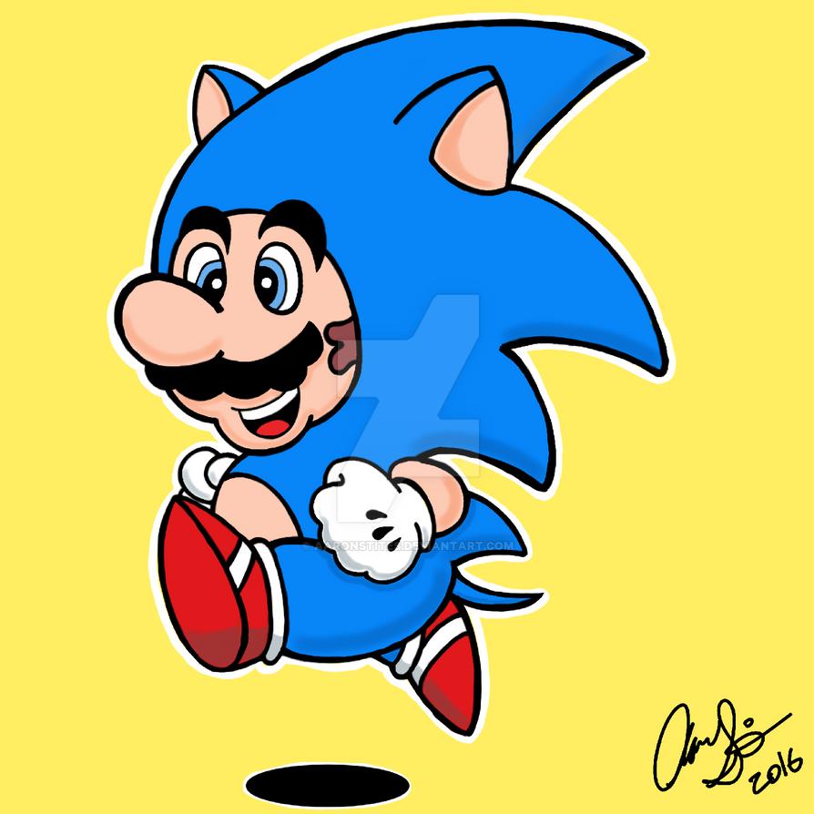 Super Hedgehog by AaronStites