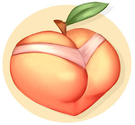 Just a peach by JusTori