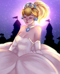 Bride Peach by JusTori