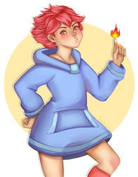 [Mother 3] Kumatora by JusTori