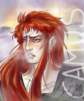 [Saint Seiya] - Still a redhaired guy in the cold