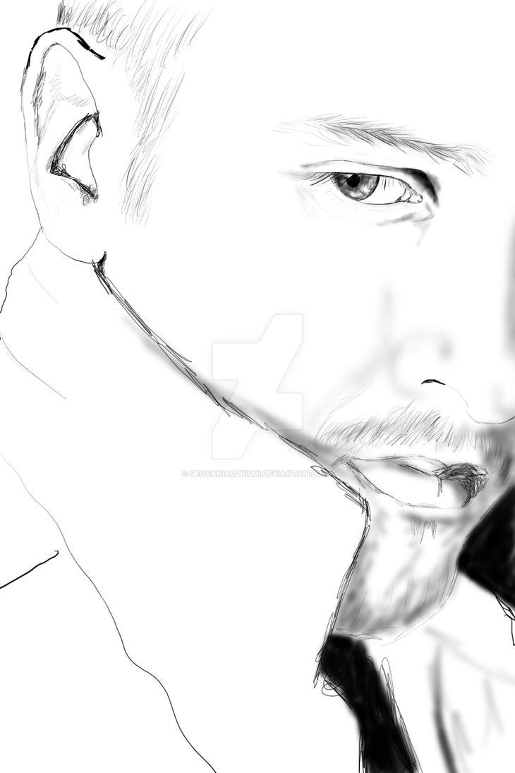 Self-portrait by geovanialdrighi