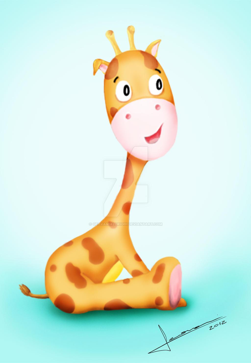 Cute Drawings of Giraffes Cute Giraffes Drawings