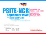 PSITE NCR September 2014 MSW