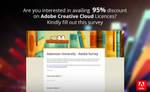 Adobe CC Survey for AdU