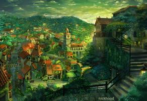 Wild Rose Village by nickhoodp
