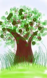 UpSide Tree by AlyssaMarieBunag