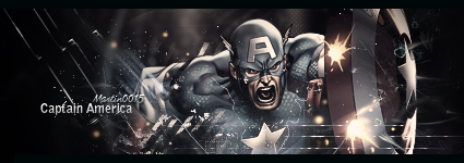 Captain America signature by Martin0015