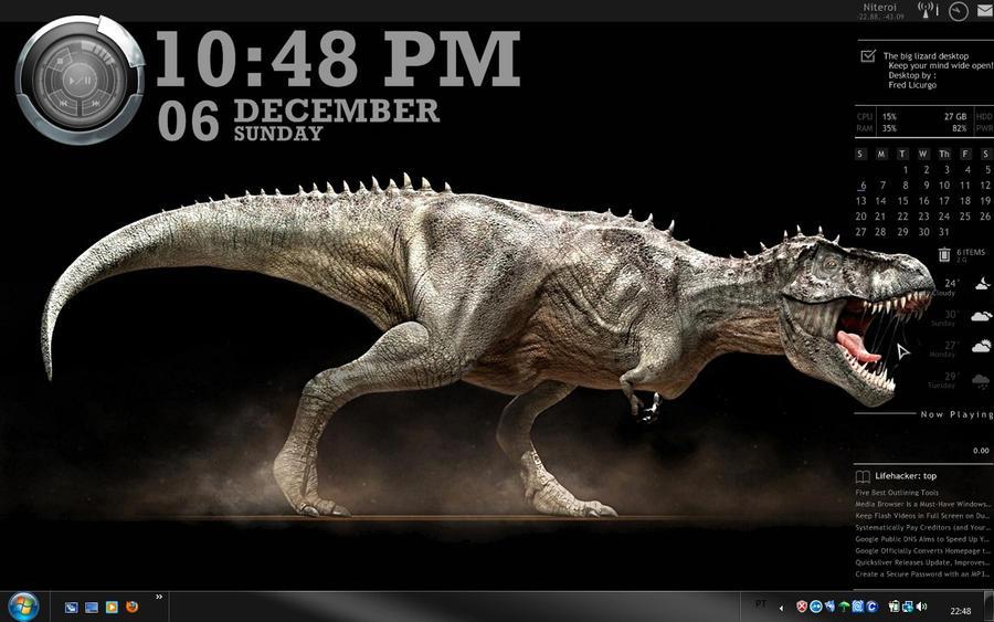 The big lizard by fredlicurgo