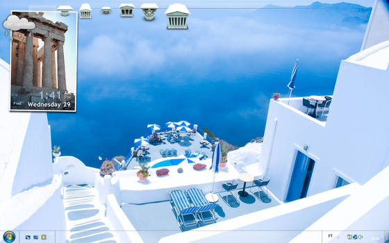 greek contrasts