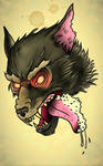 Traditional Tattoo Wolf