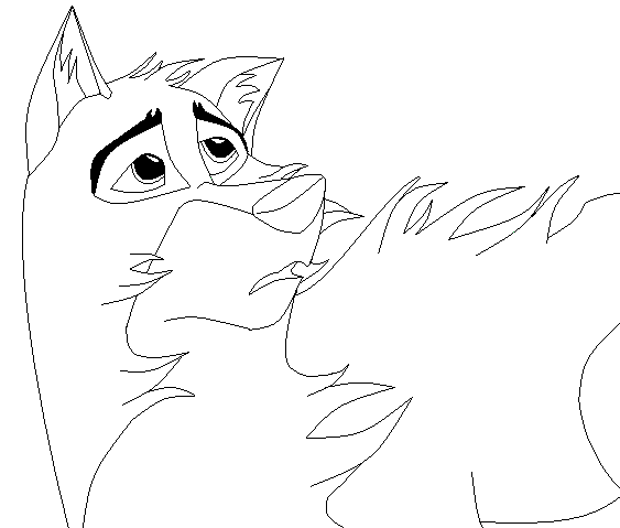 balto howling coloring pages - photo #9
