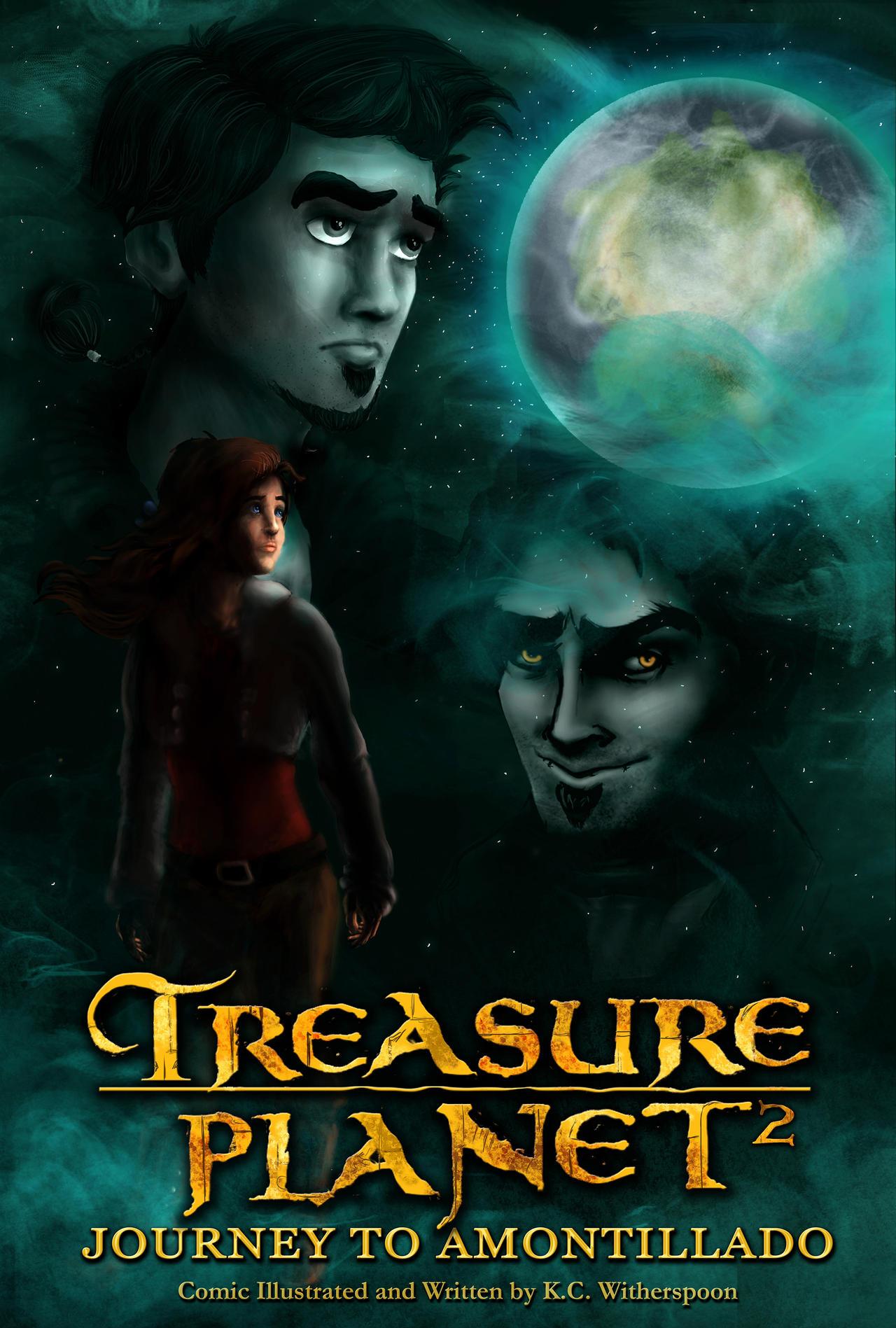 Treasure Planet 2: Journey to Amontillado (COVER) by ...