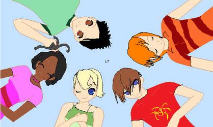 Jimmy neutron anime gang by XxEmopunkfairyXx