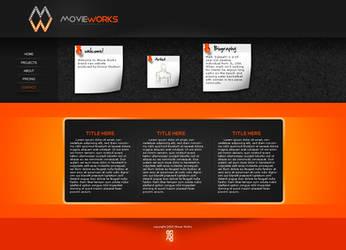 Movie Works Web Template by eN-1