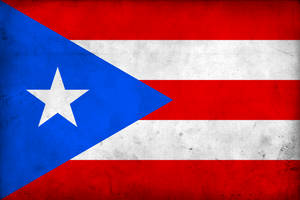 Grunge Flag of Puerto Rico by pnkrckr