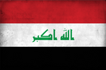 Grunge Flag of Iraq