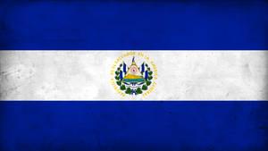 Grunge Flag of El Salvador