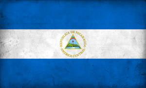 Grunge Flag of Nicaragua