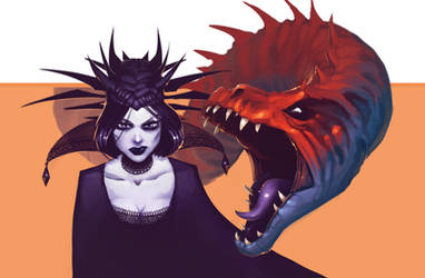 The Witch and her Dragon